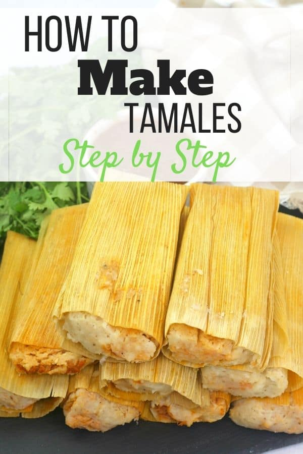 How to make tamales step by step