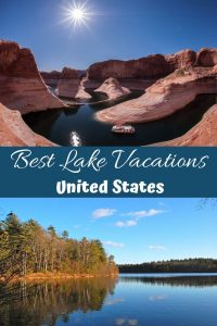 Best Lake Vacations in the United States