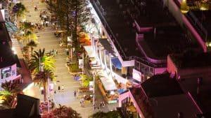 Cavill Avenue Pedestrian Mall
