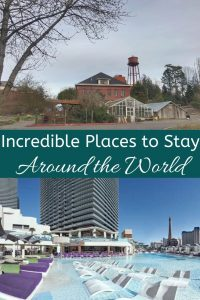 Incredible places to stay around the world