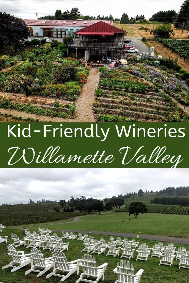 Kid Friendly Wineries in the Willamette Valley