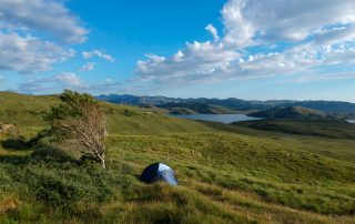Wild Camp in the Remote Highlands