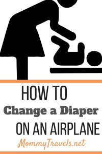 How to Change a Diaper on an Airplane