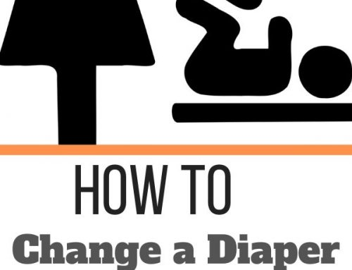 How to Change a Diaper on a Plane