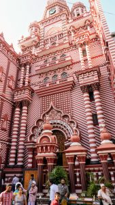 the Red Mosque Colombo