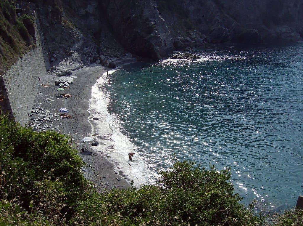Guvano Beach in Italy