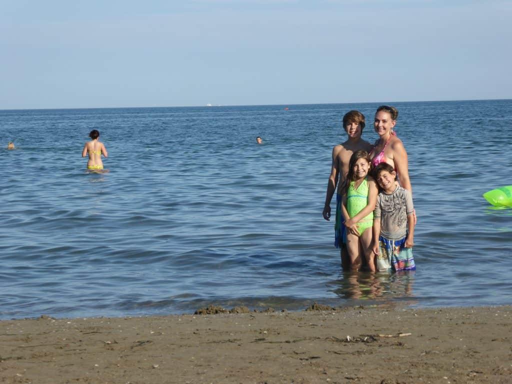 Lido Beach in Venice