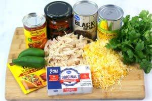 chicken enchilada dip recipe ingredients
