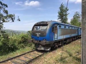 Sri Lanka Tea train