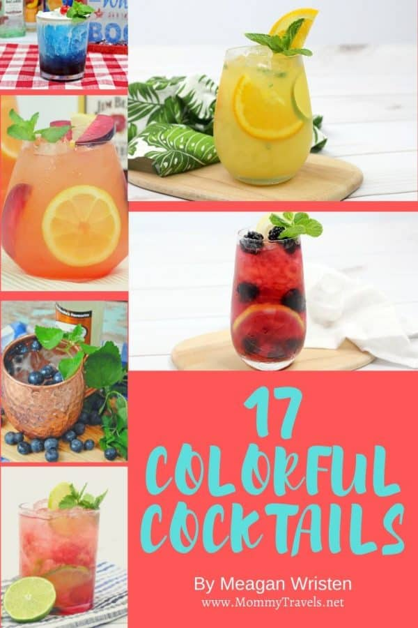 17 Colorful cocktail recipes