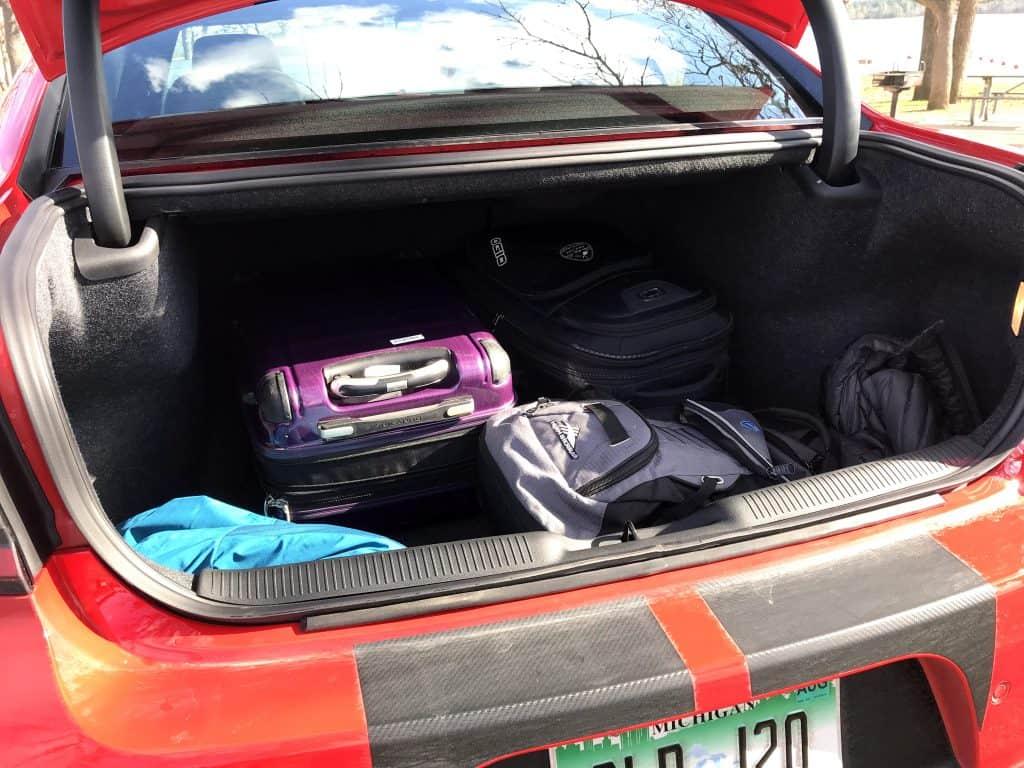 2020 Dodge Charger R:T Scat Pack Plus trunk