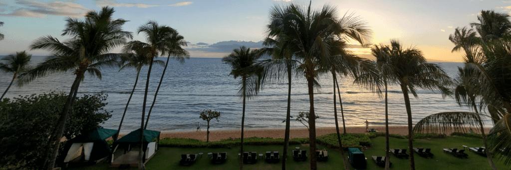 Beach Sunset in Maui