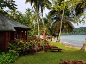 Bom Bom Beach Resort in Sao Tome and Principe