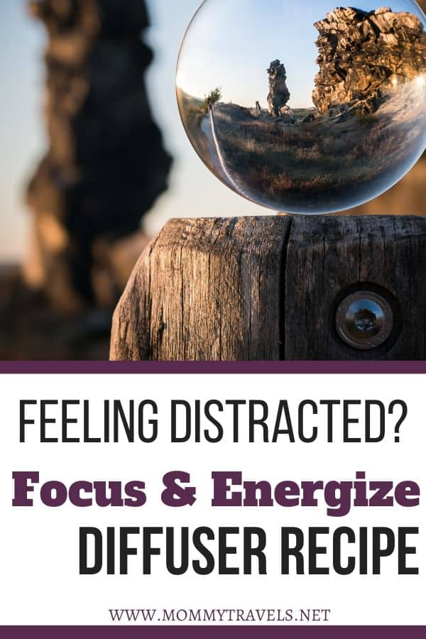 Focus & Energize diffuser recipe to combat against distraction