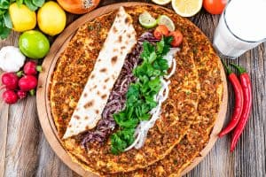 Lahmacun - Turkish Pizza