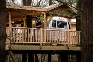 Mohicans Treehouse Resort in Ohio
