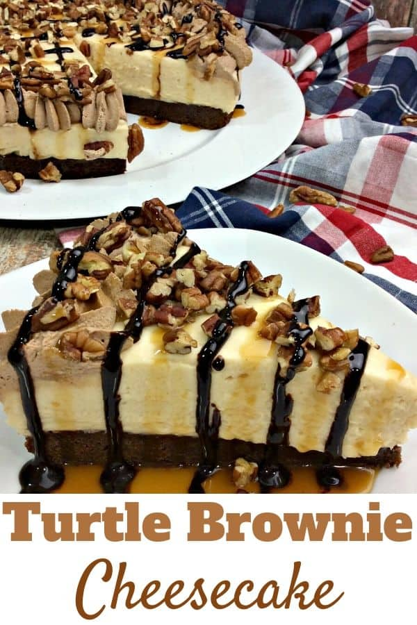 Turtle Brownie Cheesecake Recipe