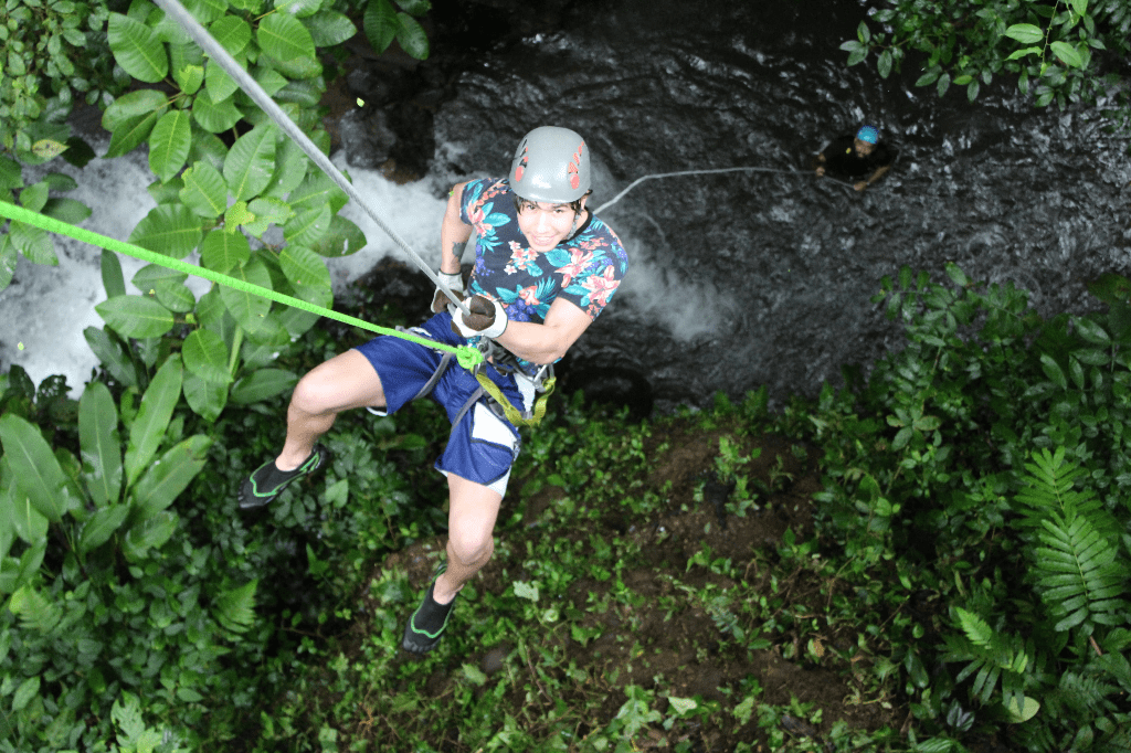 La Roca Canyoning - Rappeling in Costa Rica