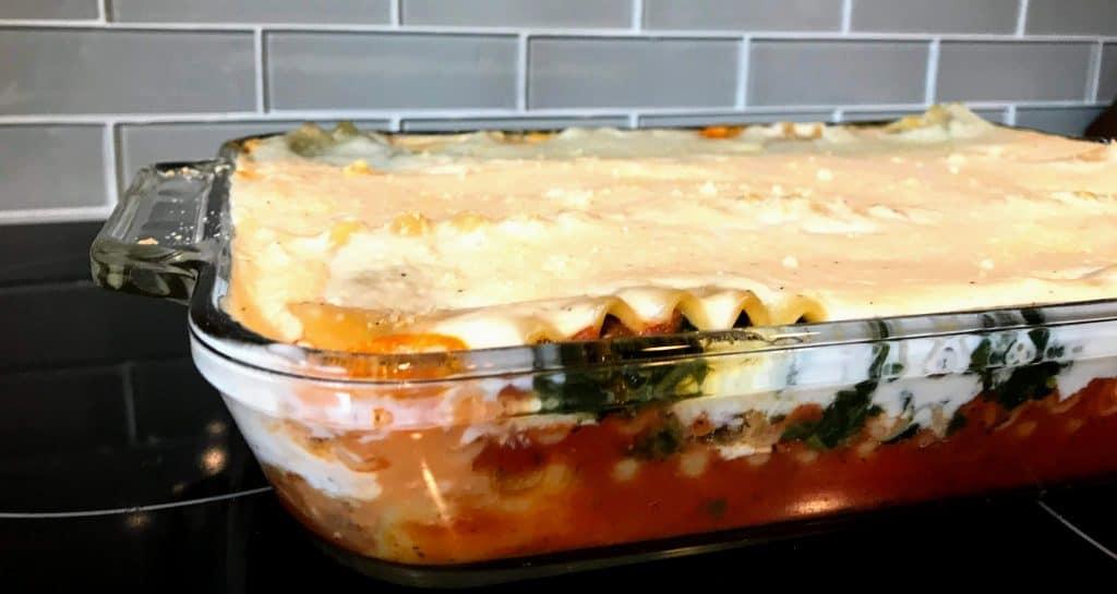 2 Sauce Lasagna