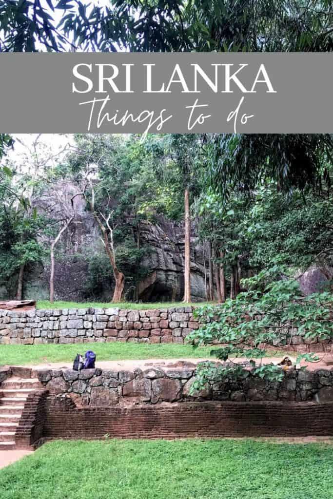 Sri Lanka Things do do