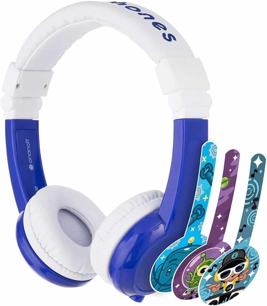 kid friendly headphones for travel