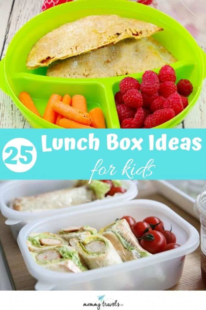 25 Lunch box ideas for kids