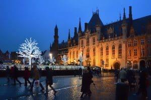 Bruges, Belgium at Christmas