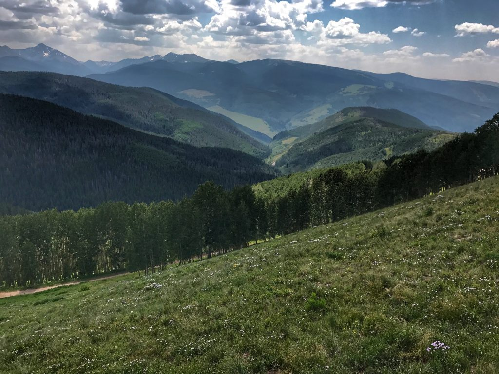 Hiking in Vail, Colorado