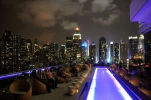 Ink 48 rooftop bar