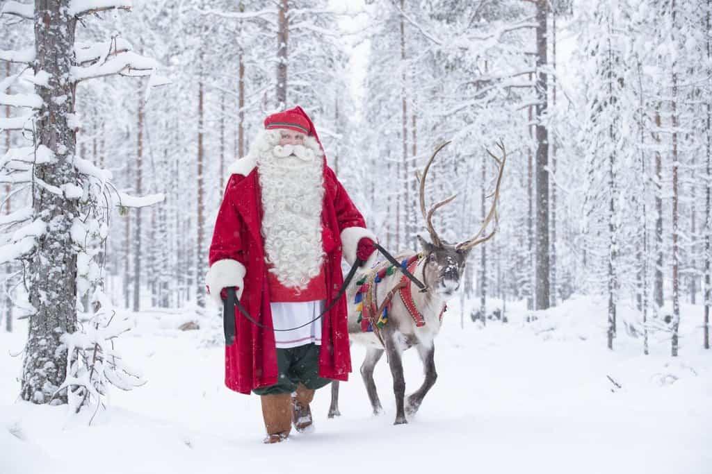 Santa Claus Winter 2018 in Rovaniemi Lapland Finland
