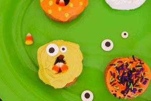 Monster Donuts for Halloween