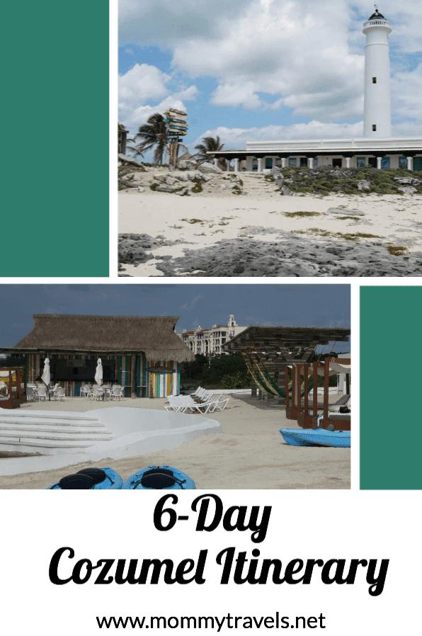 6 day Cozumel Itinerary