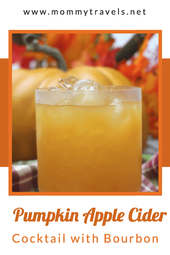 Pumpkin Apple Cider Bourbon Cocktail Recipe