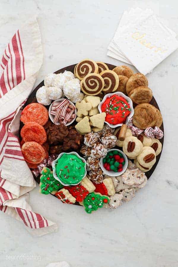 Christmas Cookie Board