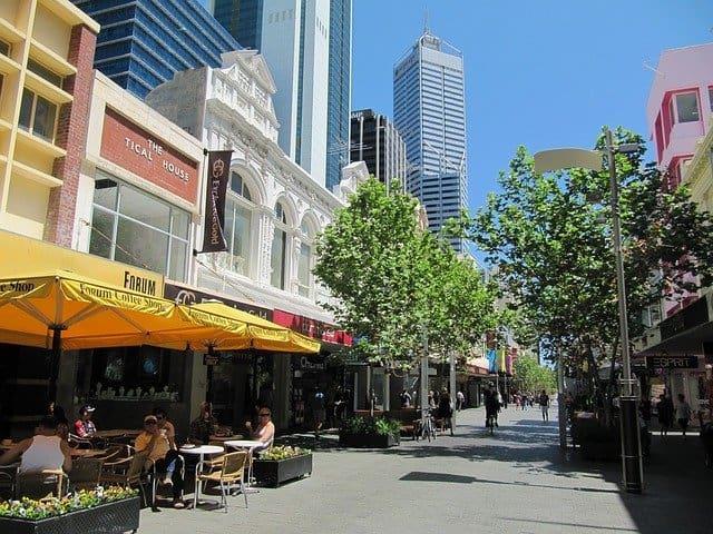 Perth Australia CBD