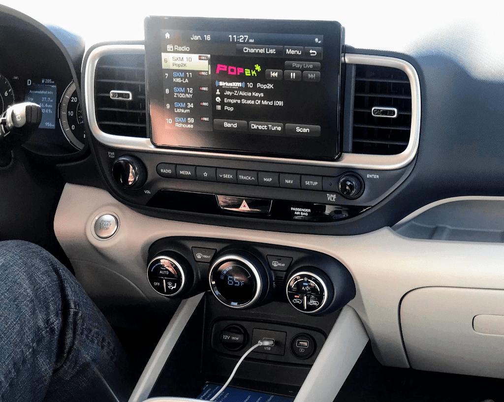 2020 Venue Hyundai Technology
