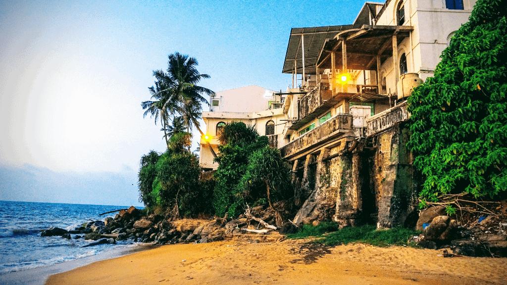 Mount Lavinia hotel in Colombo
