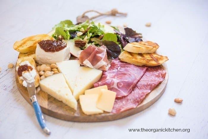 Salad Dinner Charcuterie Board