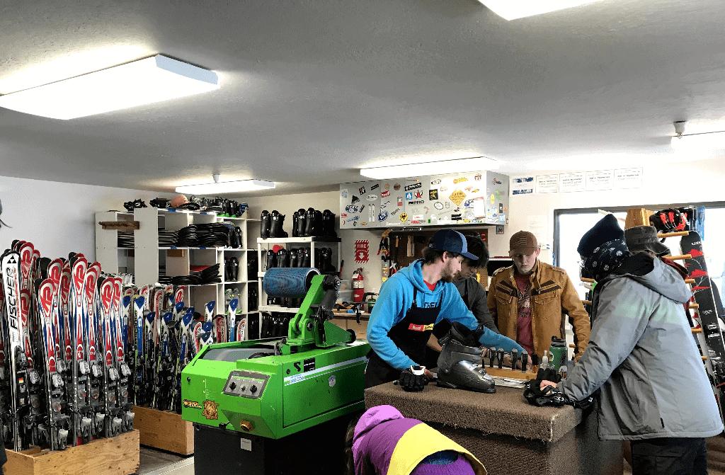 Soldier Mountain Ski Rental Shop
