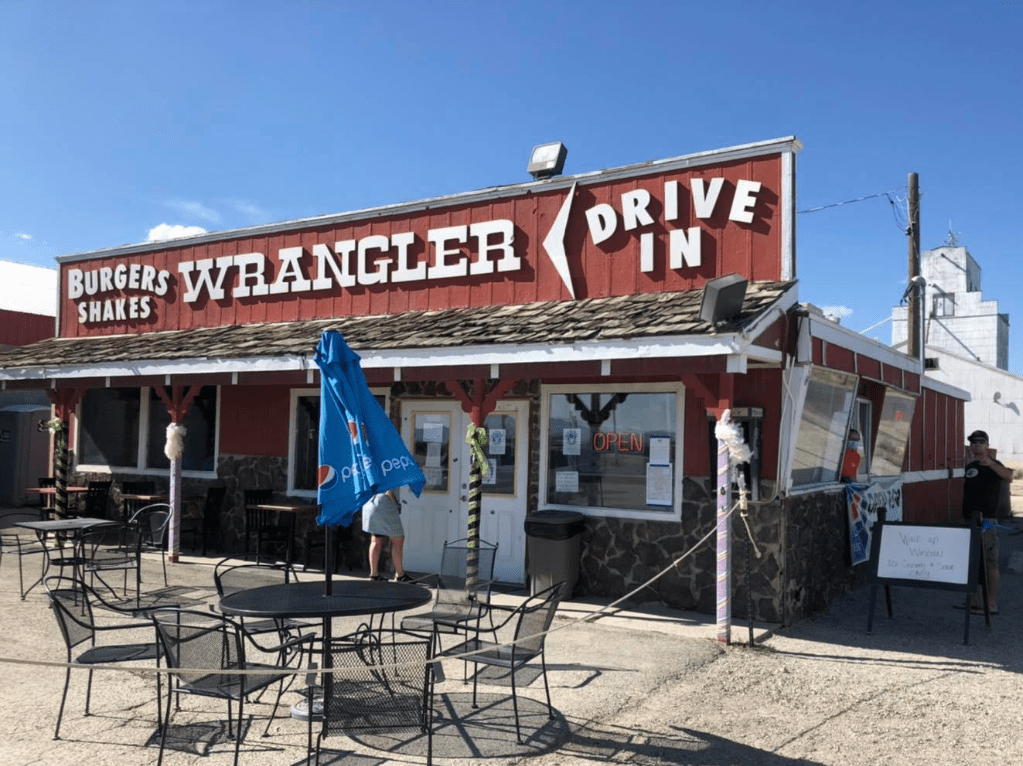 Wrangler Drive In burgers and shakes