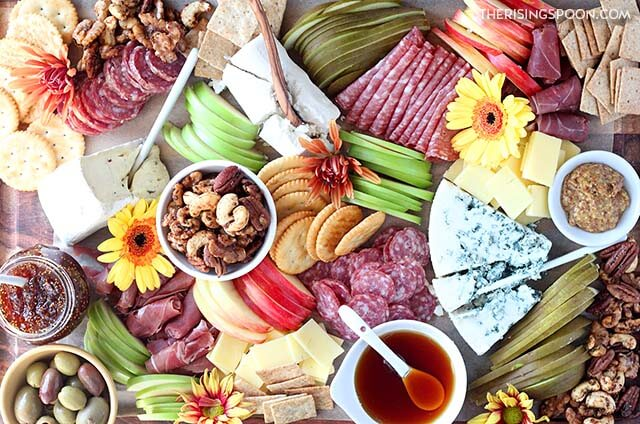 fall cheese and charcuterie board recipe
