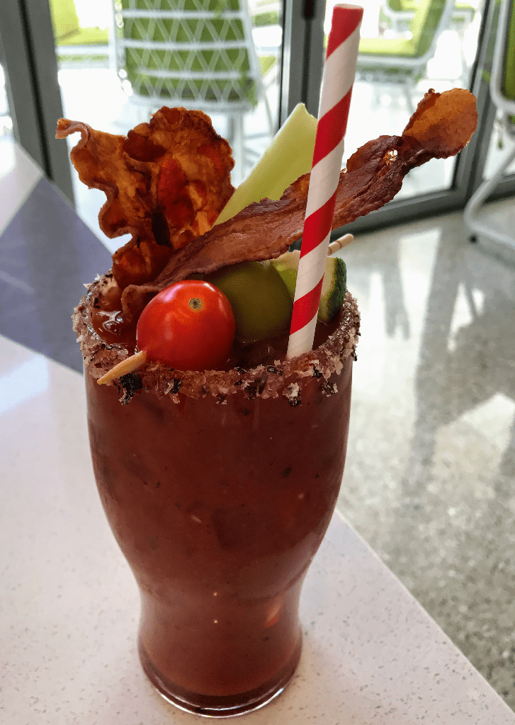 Bloody Mary at Overlook Grill at the Cosmopolitan