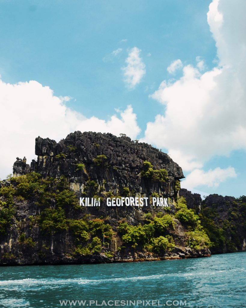 Mangrove tour on Speed boat at the Kilim Karst Geo-forest in Langkawi