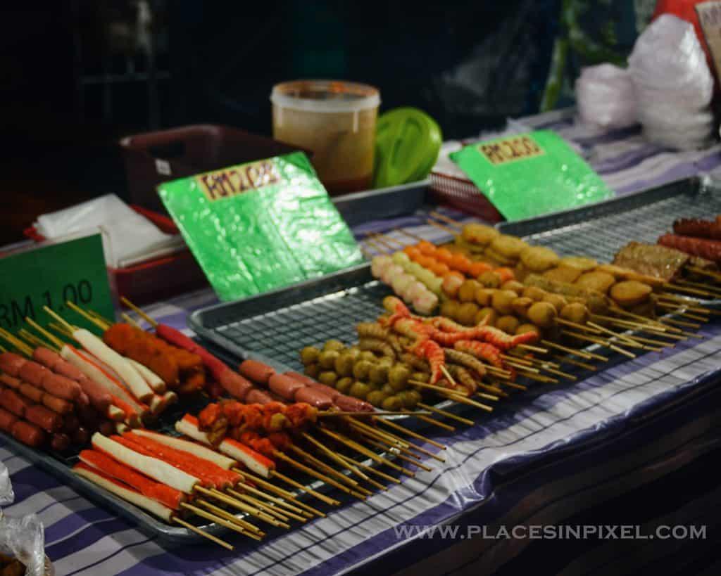 yummy street food at Langkawi's Night Markets