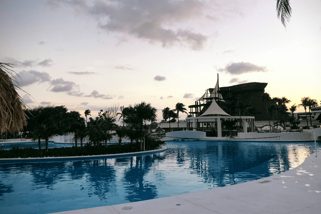 Main pool at Grand Bahia Principe Tulum