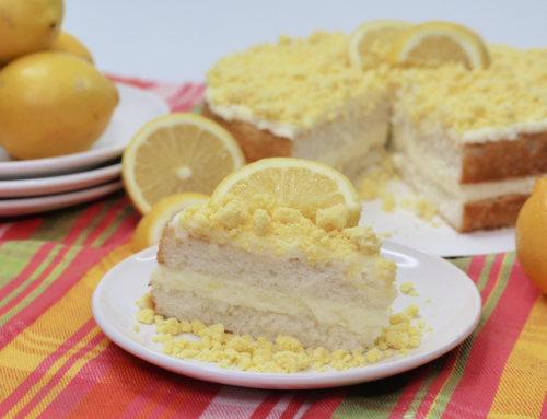 Olive Garden Lemon Creme Cake Copycat Recipe