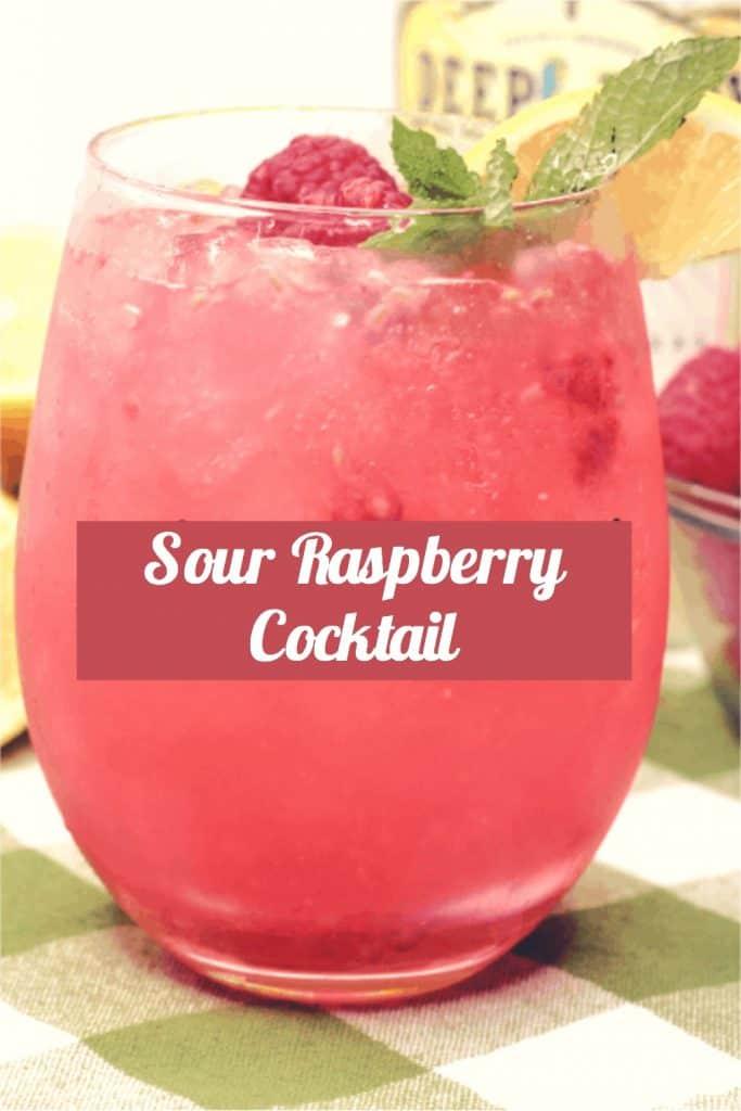 Sour-Raspberry-Cocktail