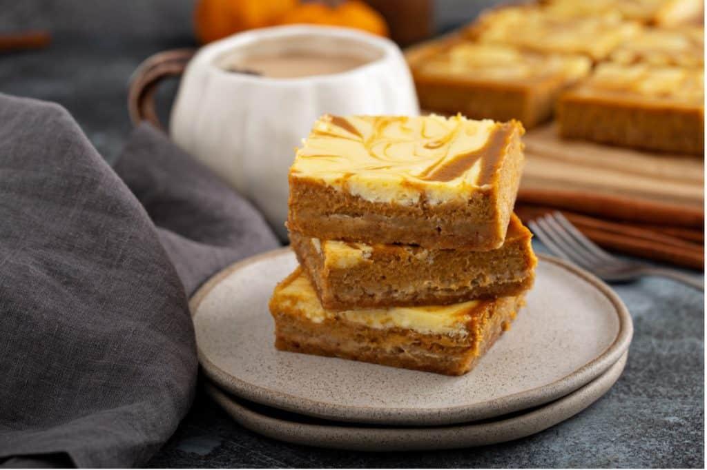 Sweet Potato Cream Cheese Bars Recipe