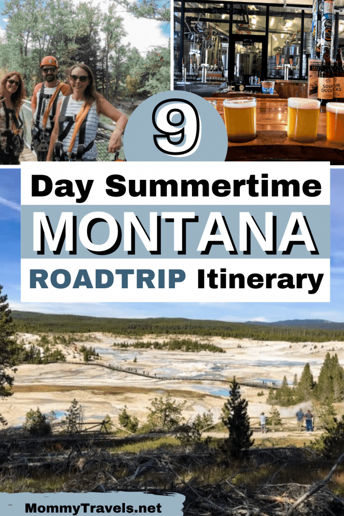 9 Day Summertime Montana Road Trip Itinerary