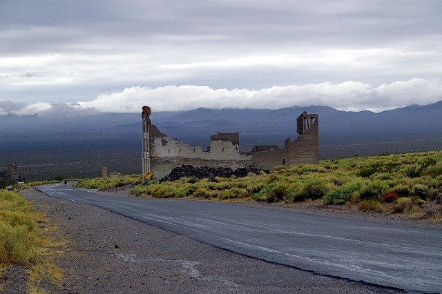 Rhyolite a Ghost Town not far from Vegas